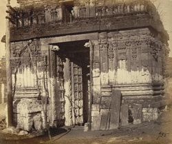 Entrance gopura of the Narasimha Temple, Ahobilam